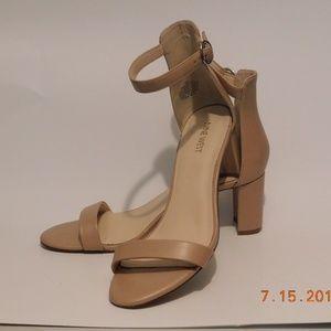 Nine West Persist Nude Sandal Size 9 M